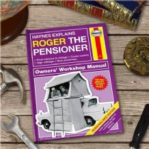 Haynes Explains Pensioners - Personalised Book